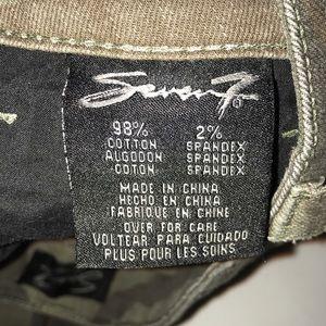 Seven7 Jeans - Seven7 camo distressed pocket stretch skinny jeans